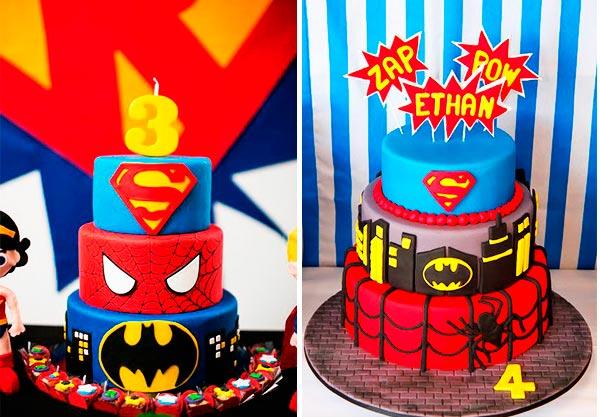 fiestas de superheroes